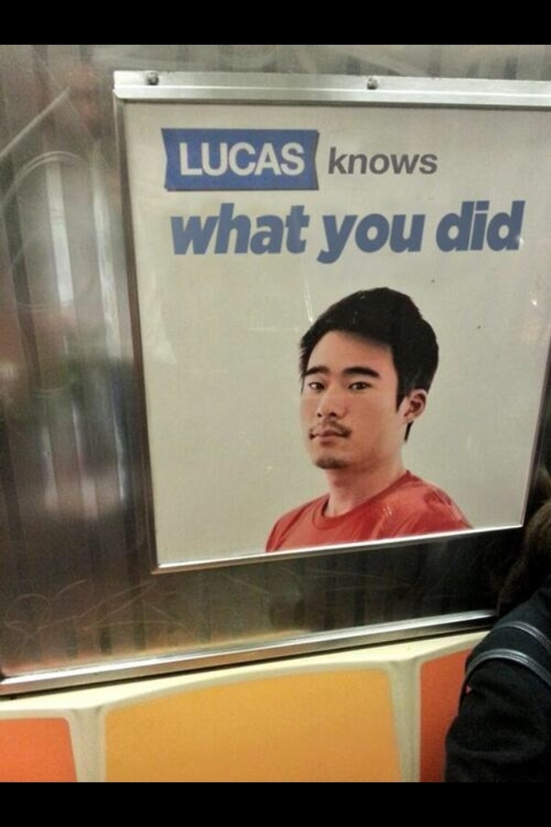 Lucas better keep his damn mouth shut