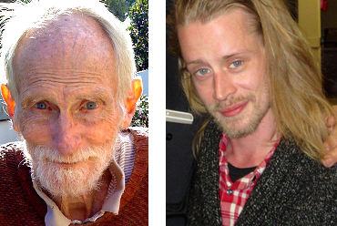 Macaulay Culkin is growing up to be the old man from Home Alone