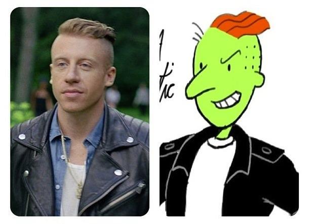 Maclemore looks like R...