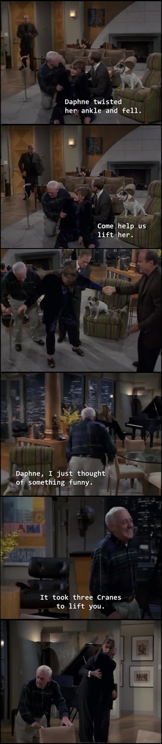 Marty Crane Is Definitely A Comedic Genius Meme Guy