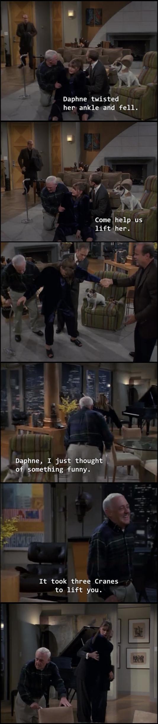 Marty Crane Is Definitely A Comedic Genius Meme Guy