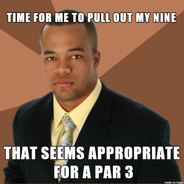 Golf Course Memes on The Golf Course Today