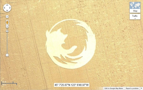 Mozilla Firefox make rivals Google advertise for them with