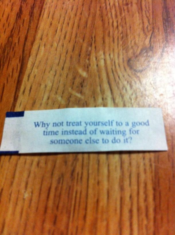 My Fortune Cookie Told Me To Masturbate - Meme Guy-8238