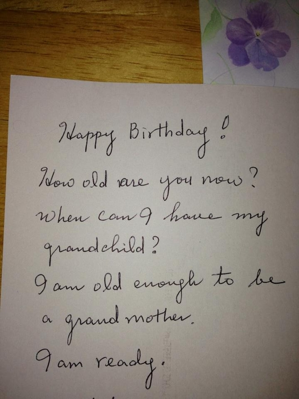 My Friend Got This Birthday Card From Her Mom Difficulty Level
