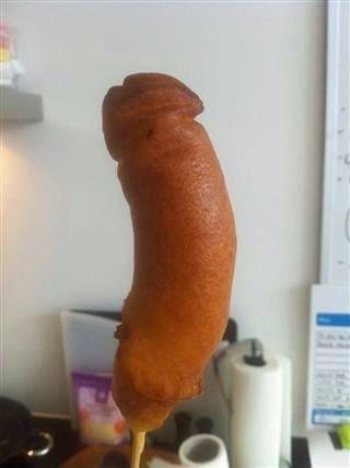 My dick feels like corn