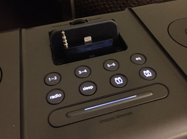 My hotel spent thousands on  pin iPhone docks just before Apple switched to lighting ports A few months ago they finally retrofitted them all with these