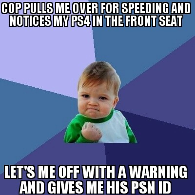 My New Best Friend The Cop Meme Guy
