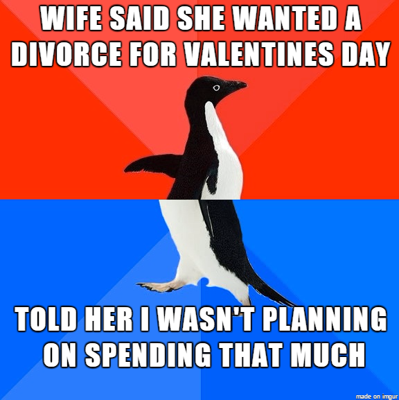 My Valentine wasnt that great