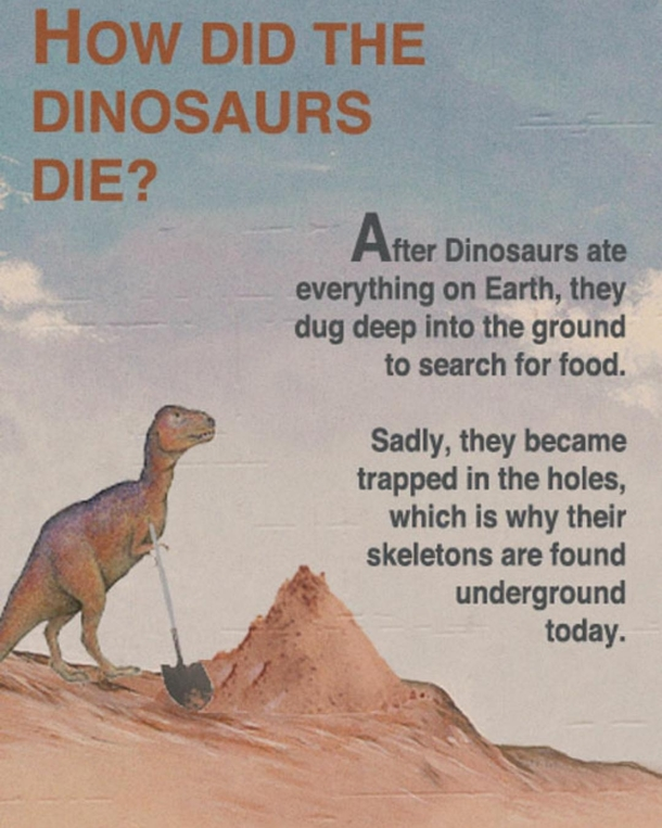 Neat little dinosaur fact for you all