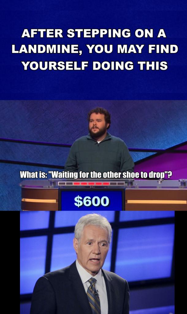 No Chill Jeopardy - Meme Guy
