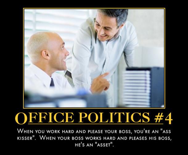 Office Politics Meme Guy