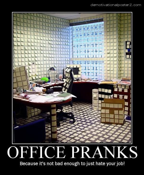 Office pranks - Meme Guy