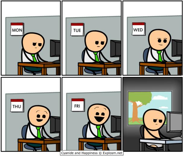 Office Worker Meme Guy