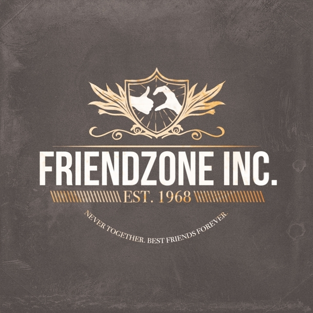 official friendzone logo meme guy