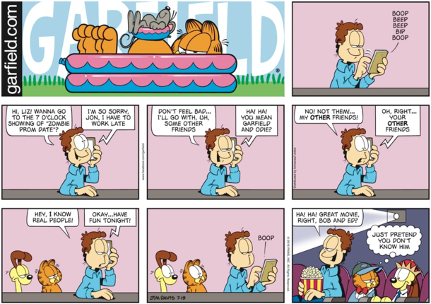 Oh My God Im Turning Into Jon Arbuckle - Meme Guy-4528
