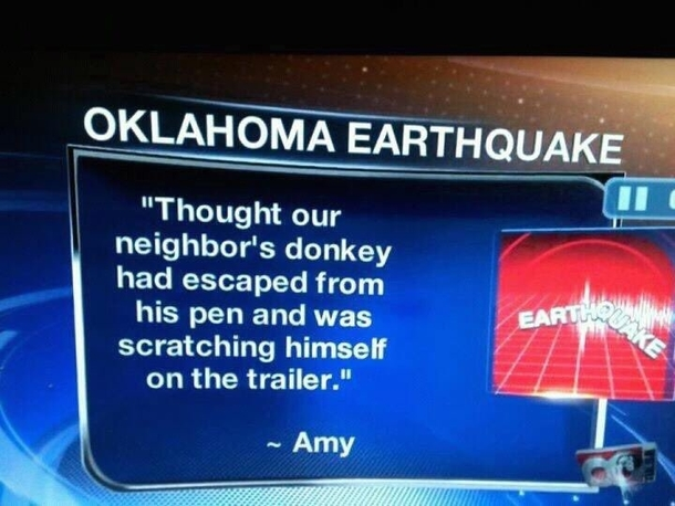 Only in Oklahoma