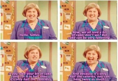 Overhearing people in work talking about the new diet theyre trying always reminds me of this