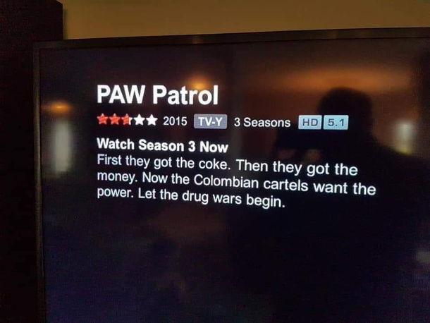Paw Patrol really took a turn these recent years