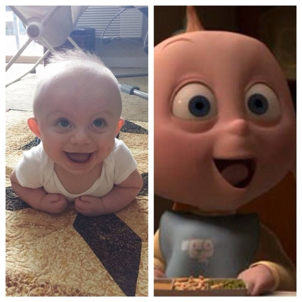 People Always Tell Me My Son Looks Like Jack Jack From The Incredibles I Think Theyre Right Meme Guy