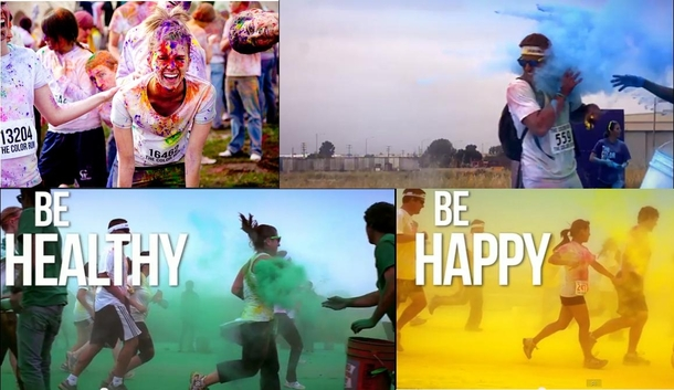 Pic #1 - Color RunRun or Dye - Expectation vs Reality  No Thanks