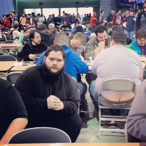Pic #1 - I participated in one of the biggest Magic the Gathering tournaments of all time this weekend In an effort to document it I posed for pictures near people with exposed asscracks I present to you Grand Prix Richmond Crackstyle