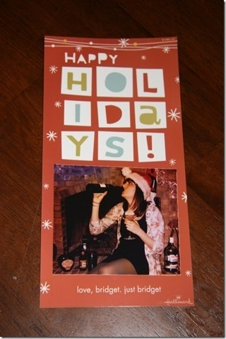 Pic #1 - My single sisters very single Christmas cards