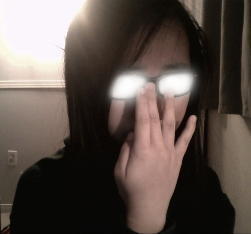 Pic #1 - People doing the anime glasses thing - Meme Guy