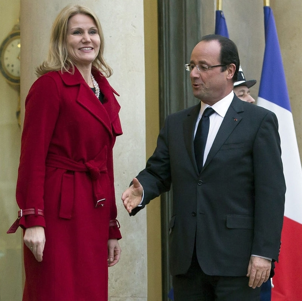 Pic #1 - The President of France cannot catch a break
