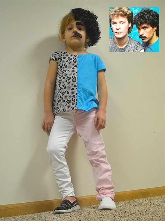 Pic 1 This Kid Couldnt Decide Whether To Be Hall Or Oates For