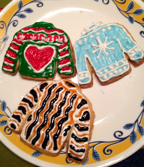 Pic 1 Ugly Sweater Cookie Kit I Think I Might Have The Martha