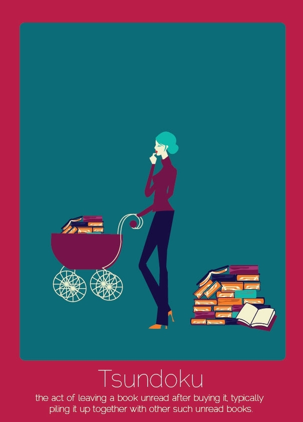 Pic #1 -  Untranslatable Words From Other Languages Illustrated By Anjana Iyer
