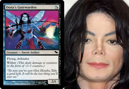 Pic #10 - Magic The Gathering cards that look frighteningly similar to celebrities