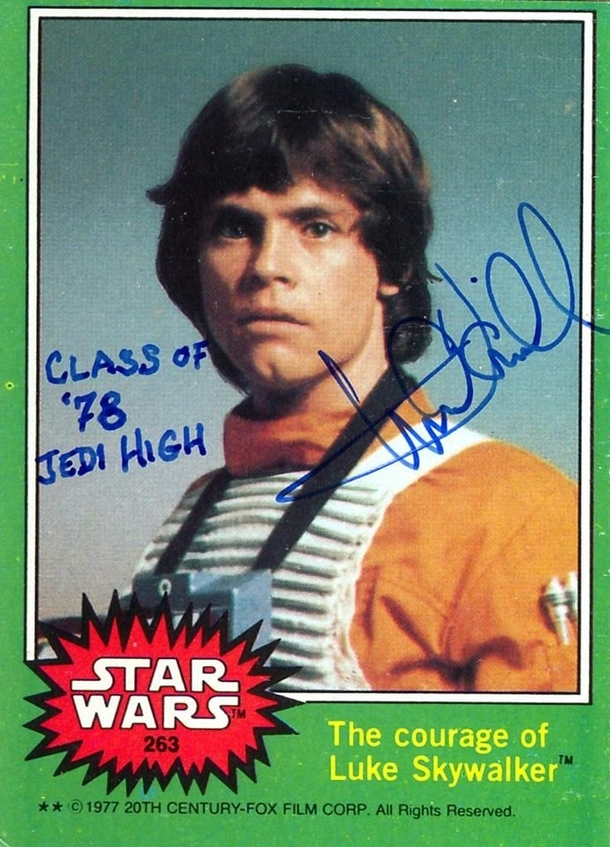 Pic #10 - Mark Hamill Gives the Best Autographs