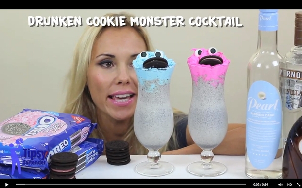Pic #2 - Found on Facebook cookie monster cocktail