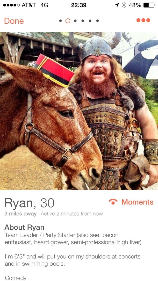 Pic #2 - I hope this guy finds love on Tinder Hes awesome