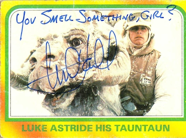 Pic #2 - Mark Hamill Gives the Best Autographs