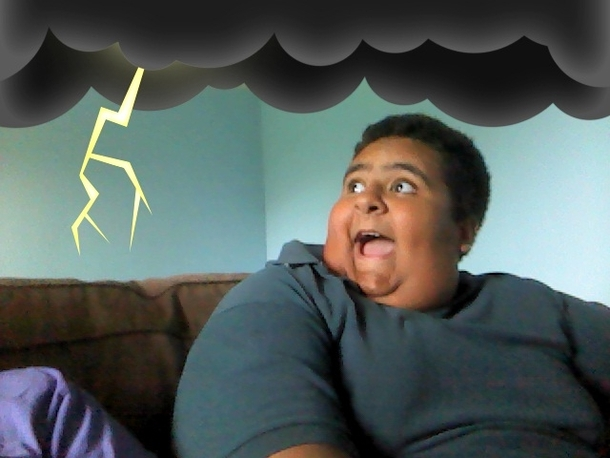 Pic #2 - My brother got a hold of a webcam