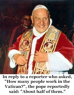 Pic #2 - Pope John XXIII is going to formally become a saint on Sunday  April  Here is a sample of his humorous quips