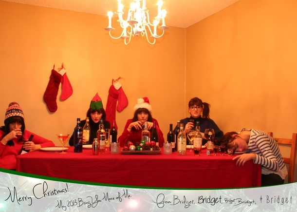Pic #3 - My single sisters very single Christmas cards