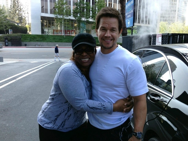 Pic #3 - My sisters friend met Matt Damon