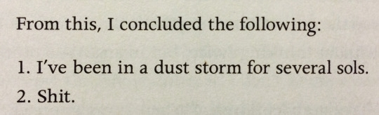 Pic #3 - The Martian is a literary masterpiece
