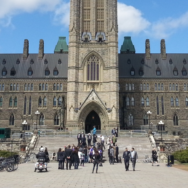 Pic #3 - The sacred guardians of the Parliament of Canada