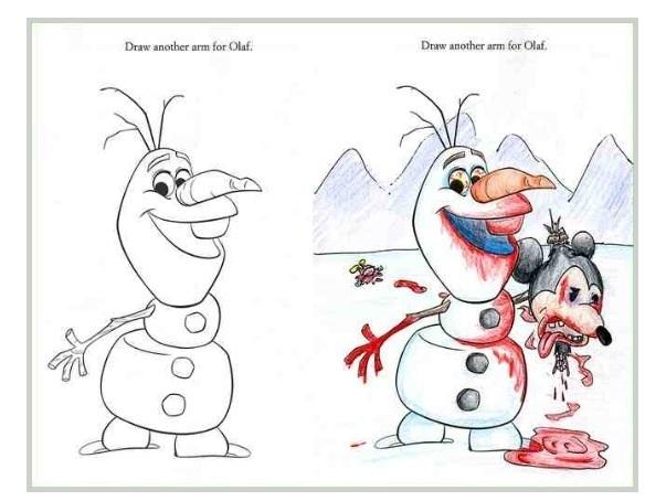 Pic 4 Hilarious Coloring Book Drawings Meme Guy