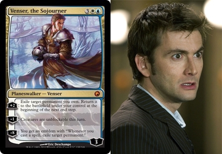 Pic #4 - Magic The Gathering cards that look frighteningly similar to celebrities