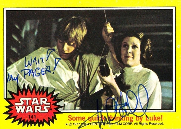 Pic #4 - Mark Hamill Gives the Best Autographs