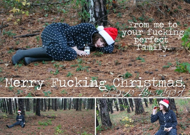 Pic #4 - My single sisters very single Christmas cards