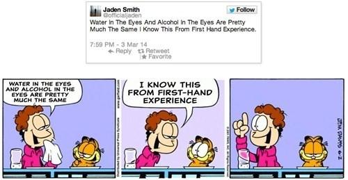 Pic 5 Jaden Smiths Tweets Make Sense In The Garfield World Meme Guy