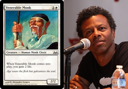 Pic #5 - Magic The Gathering cards that look frighteningly similar to celebrities