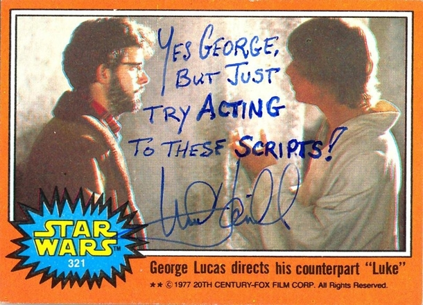 Pic #5 - Mark Hamill Gives the Best Autographs